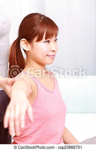 chiropractic - csp23866701