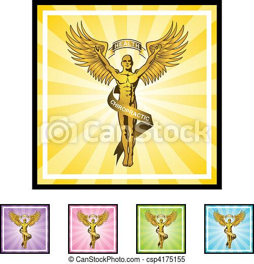 Chiropractic Symbol - csp4175155