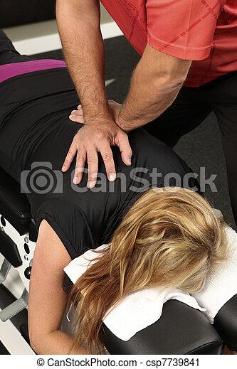 chiropractor - csp7739841