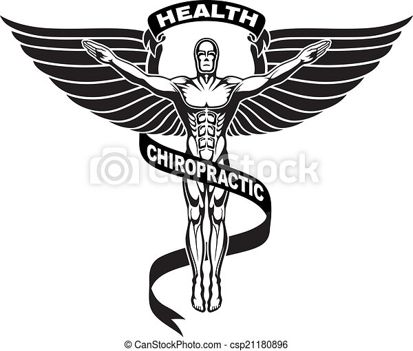 Chiropractor Symbol or Icon - csp21180896