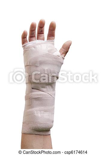 chirurgie, main - csp6174614