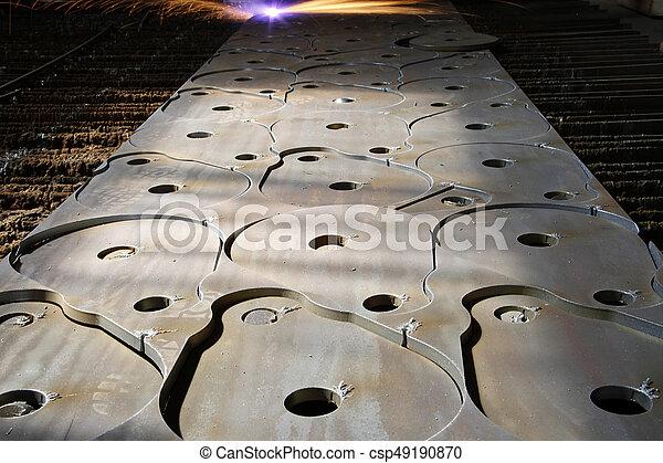 Láser industrial con chispas - csp49190870
