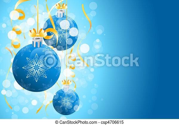 Antecedentes navideños con chispas - csp4706615