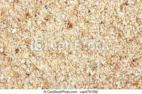 chiudere, bread, seasoned, briciole, vista - csp4791550