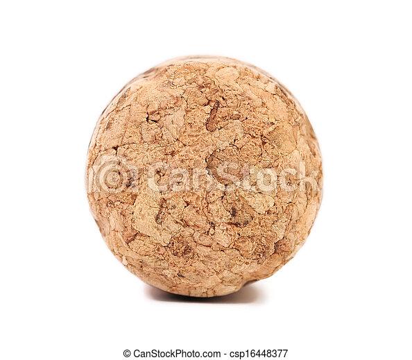 chiudere, cork., champagne, su - csp16448377