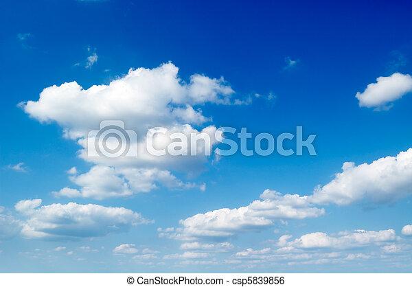 chmury - csp5839856