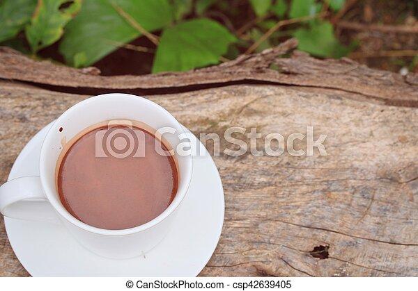 chocolat chaud - csp42639405
