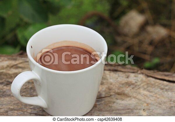 chocolat chaud - csp42639408