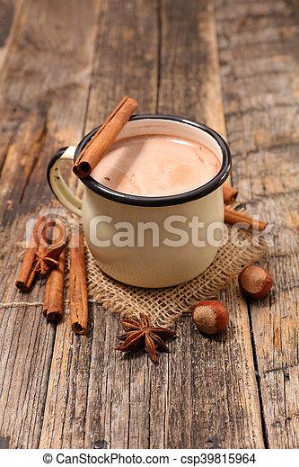 chocolat chaud - csp39815964