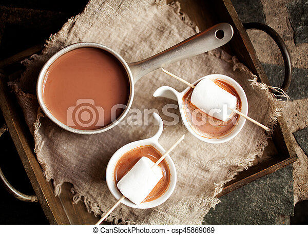 chocolat chaud - csp45869069