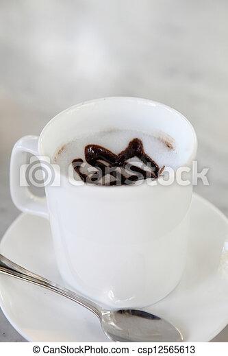 chocolat chaud - csp12565613