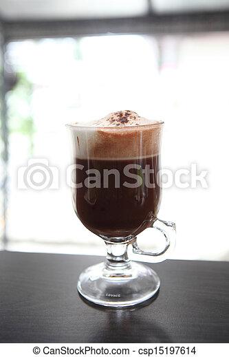chocolat chaud - csp15197614