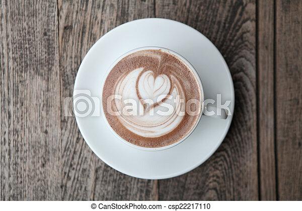 chocolat chaud - csp22217110