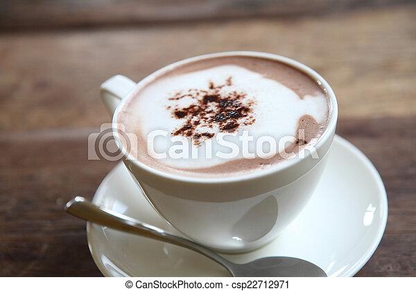 chocolat chaud - csp22712971