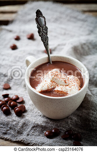 chocolat chaud - csp23164076