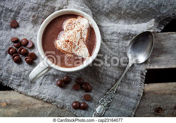 chocolat chaud - csp23164077