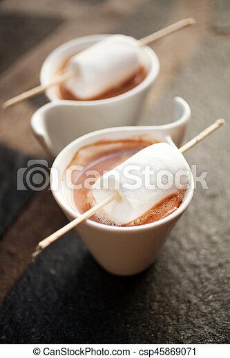 chocolat chaud - csp45869071