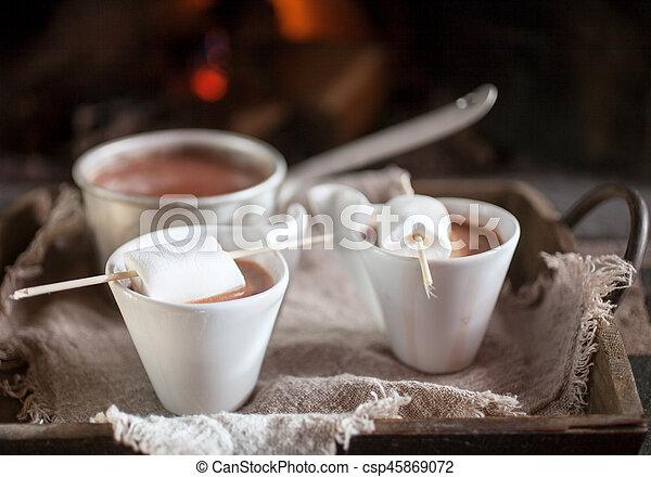 chocolat chaud - csp45869072