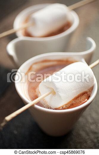 chocolat chaud - csp45869076