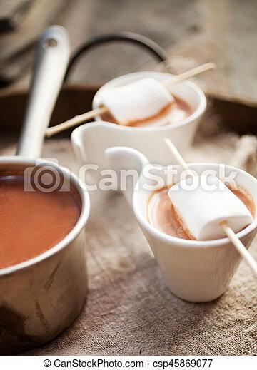 chocolat chaud - csp45869077