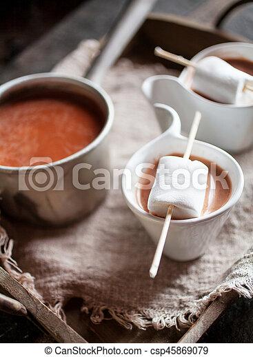 chocolat chaud - csp45869079
