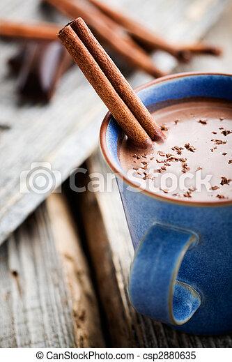 chocolat chaud - csp2880635