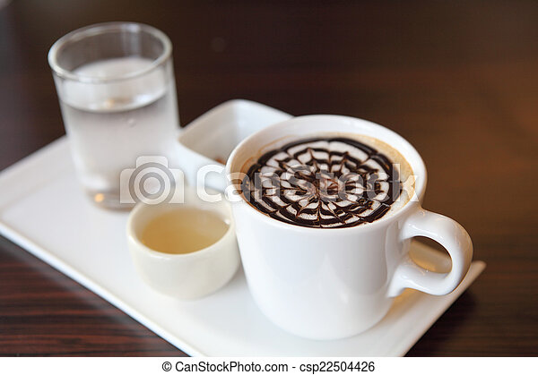 chocolat chaud - csp22504426