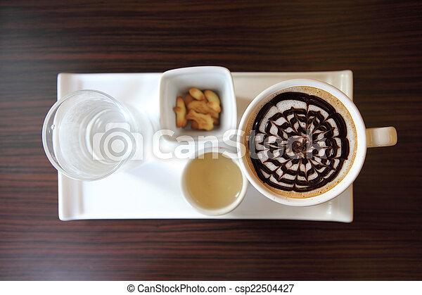 chocolat chaud - csp22504427