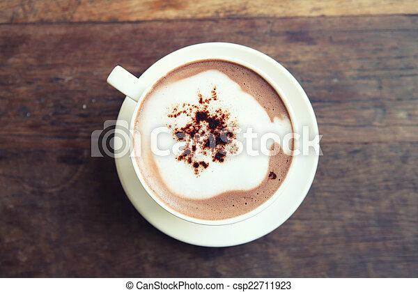 chocolat chaud - csp22711923