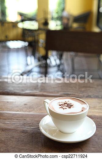 chocolat chaud - csp22711924