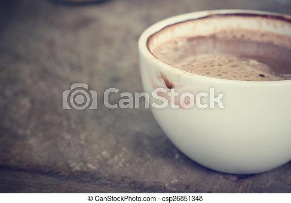 chocolat chaud - csp26851348