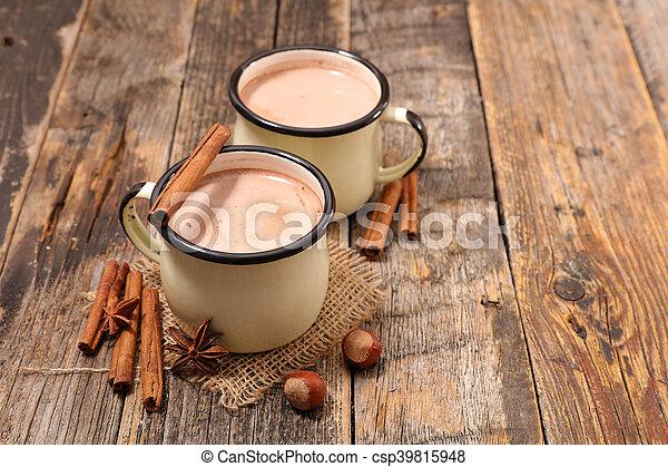 chocolat chaud - csp39815948
