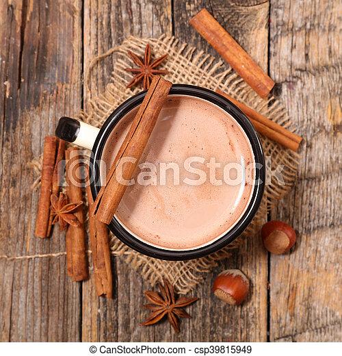 chocolat chaud - csp39815949