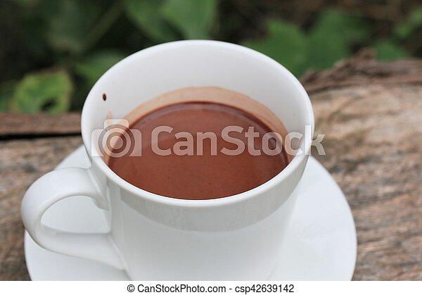 chocolat chaud - csp42639142