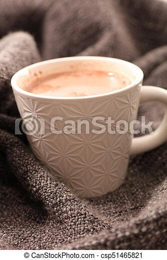 chocolat chaud - csp51465821