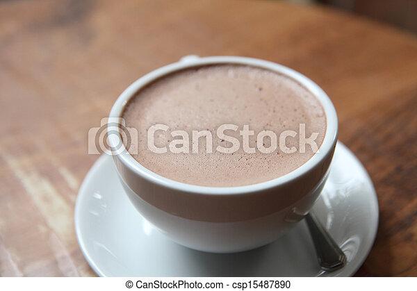 chocolat chaud - csp15487890