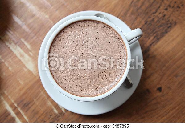chocolat chaud - csp15487895