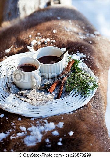 chocolat chaud - csp26873299