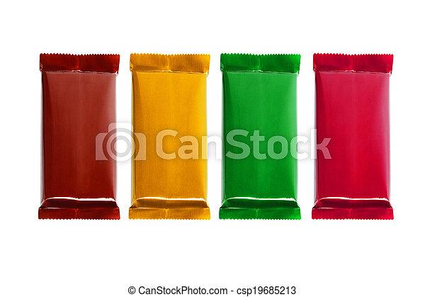 Chocolate Bars - csp19685213