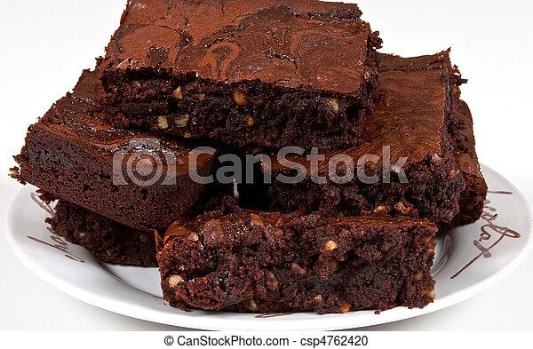 Chocolate Brownies - csp4762420