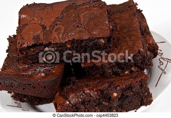 Chocolate Brownies - csp4453823