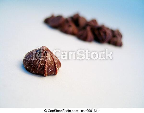 Chocolate bud, isol - csp0001614