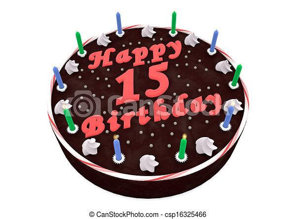 Prime Chocolate Cake For 15Th Birthday Chocolate Cake With Happy Funny Birthday Cards Online Inifofree Goldxyz