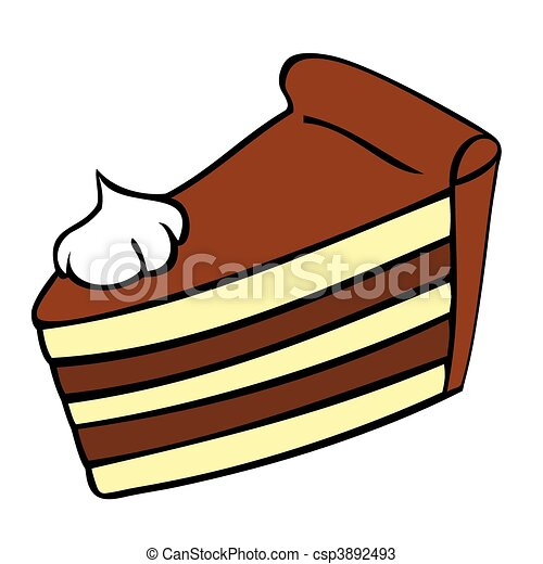 chocolate cake slice vectors search clip art illustration rh canstockphoto com piece of cake free clipart piece of cake clipart black and white
