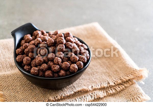 chocolate cereal bowl - csp54422900