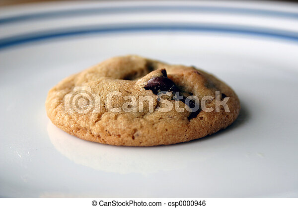 Chocolate Chip cookie - csp0000946