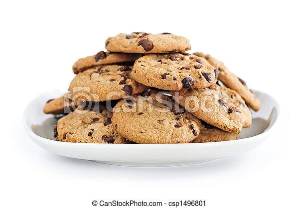Chocolate chip cookies - csp1496801