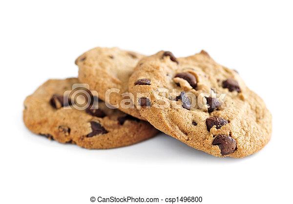Chocolate chip cookies - csp1496800
