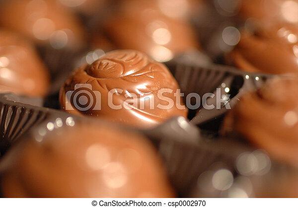 chocolate close-up - csp0002970