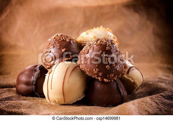 chocolate, doce - csp14699981